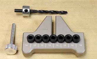 Dübeleinsatz für 6 mm Dübel zur Verwendung in JESSEM Dübelschablone