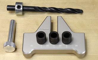 Dübeleinsatz für 10 mm Dübel zur Verwendung in JESSEM Dübelschablone