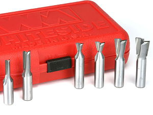 6-Piece Metric INCRA Joinery Router Bit Set