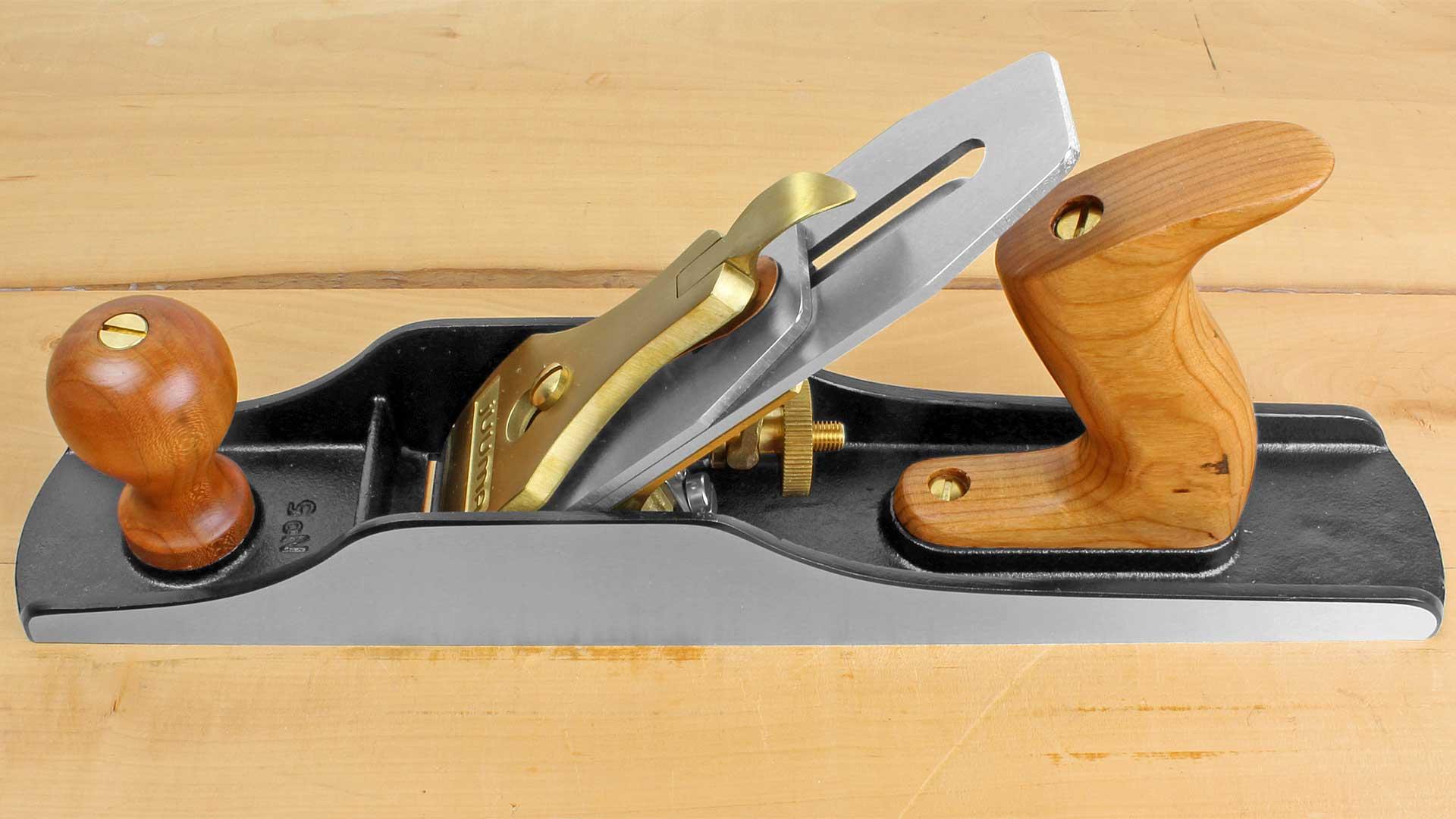 18mm Messerbreite IBEX Handhobel GEW/ÖLBTE Sohle 46mm Werkzeugl/änge des Hobels