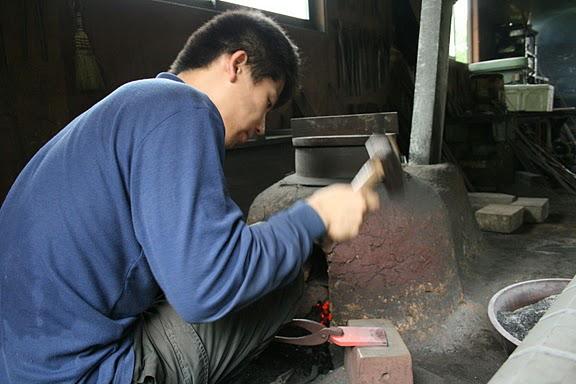 hand hammering