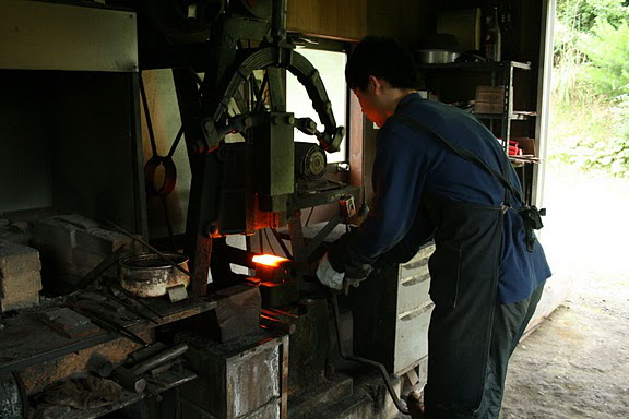 Forging the Jigane