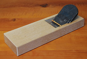 KEIZABURO Smoothing Plane with White Oak Body