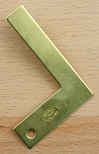 RICHARD KELL Precision Square made of brass