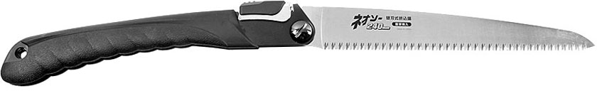 Folding Saw NEOCUT with coarse teeth for pruning