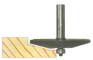 Raised Panel Bit with Ball Bearing