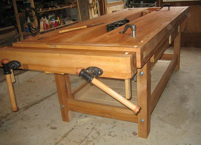 Workbench built by Axel K.