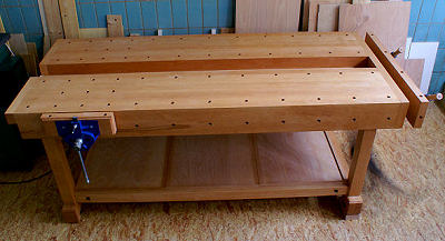 Workbench built by Rolf-R. S., Groß-Bieberau, Germany ...