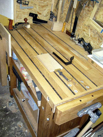 Workbench built by Marc Z.