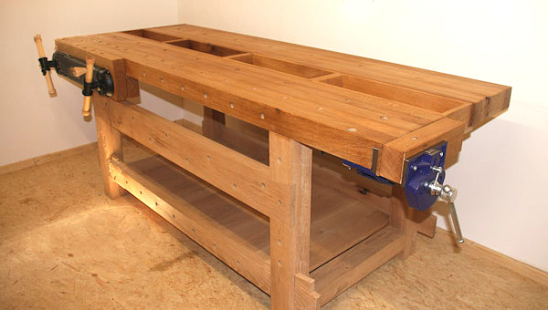 Workbench built by Stefan E.