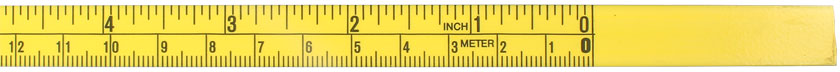 Adhesive-backed Steel Measuring Tape