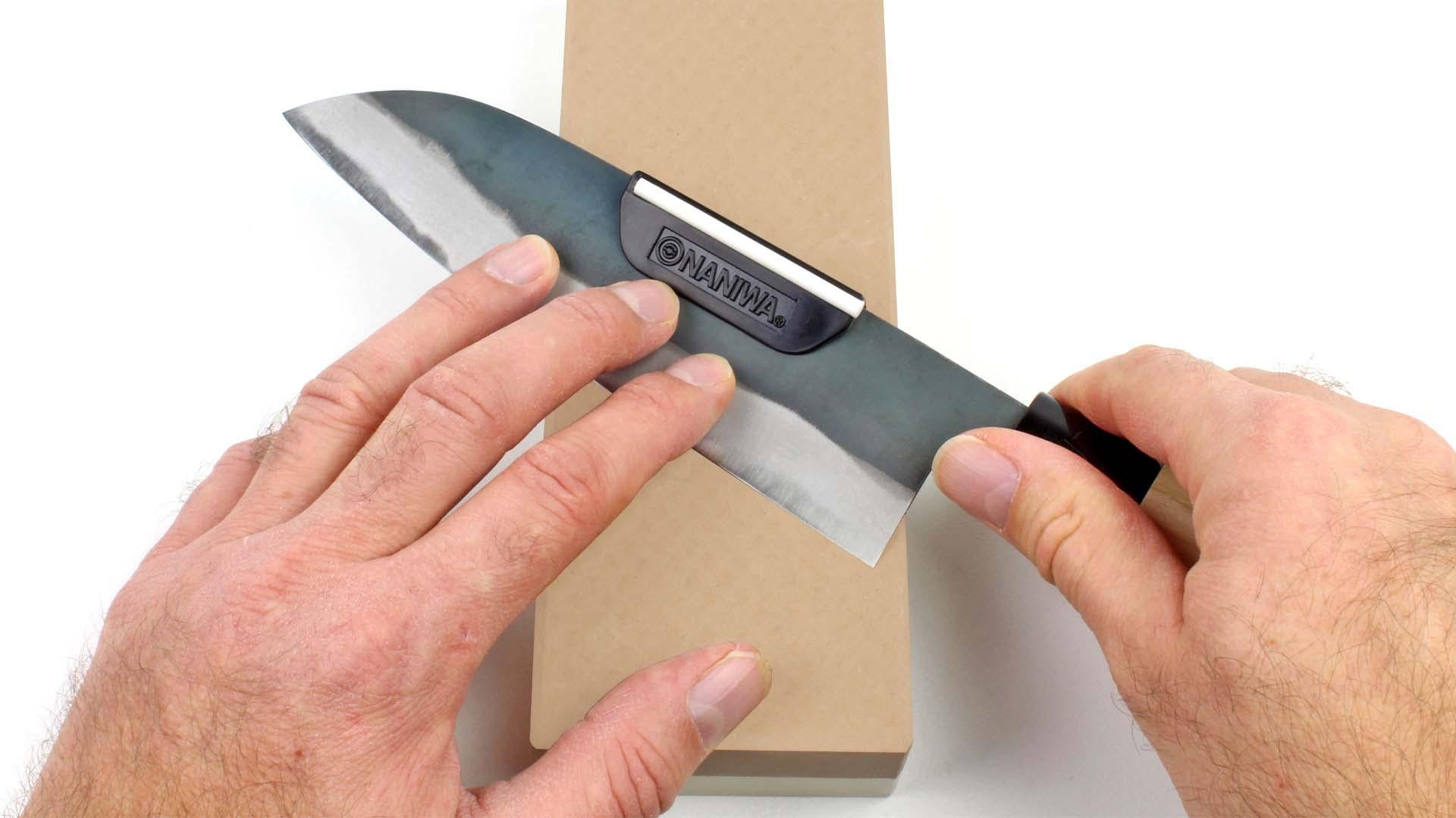 limare coltelli  Guida a clip per l'affilatura dei coltelli | UTENSILI PROFESSIONALI