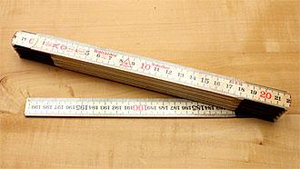 Folding Rule length 2 m