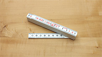 Plastic Folding Rule length 1 m