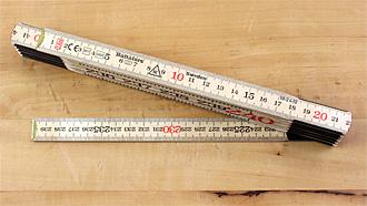 Folding Rule length 2.4 m