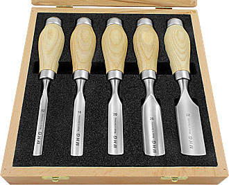 5pc MHG Butt Chisel Gouge Set