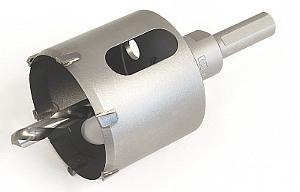 MIYANAGA DL Hartmetall-Lochsäge mit Schraubschaft
