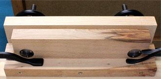 Moxon Aufsatzzange mit Holzbacken YORK