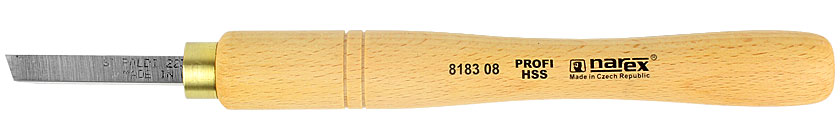 Mini 8 mm right skew chisel