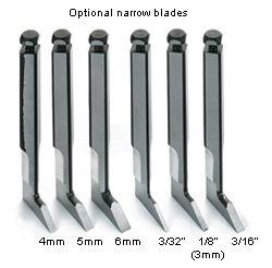 Narrow Blades for Veritas Router Plane