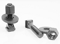 T-Nut with Screw with Hex Nut with Washer