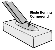 Honing compound