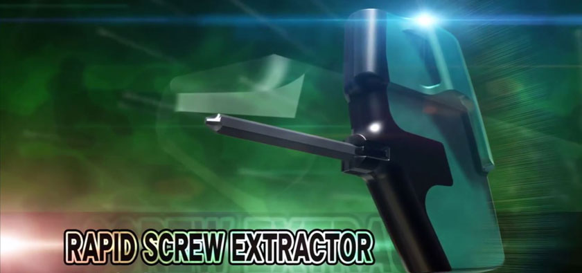 Rapid screw extractor DBZ-60G from ENGINEER