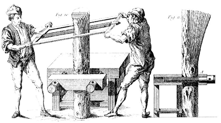 Roubo frame saw