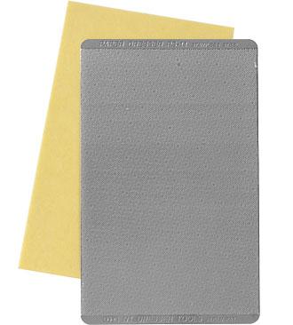 NT Paper Dresser Sanding Plate rectangular 80 x 54 mm