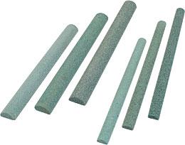 Stecche abrasive SILIFIX a base semicircolare