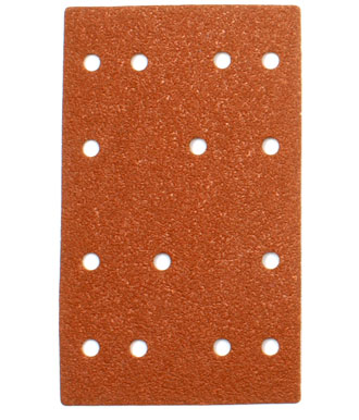 Hook and Loop Sandpaper 80 x 133 mm with Holes