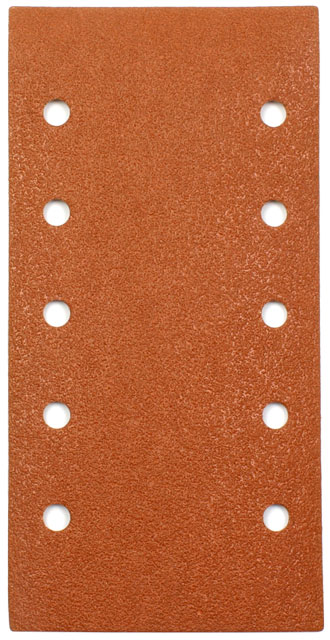 Hook and Loop Sandpaper 115 x 228 mm with Holes