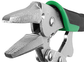 Screw removal locking pliers