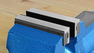 Ganasce magnetiche in alluminio