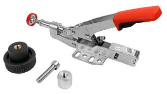 BESSEY Schubstangenspanner Spannweite 35 mm mit Befestigungsset für Multifunktionstische