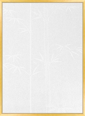 Shoji Paper white with bamboo design
