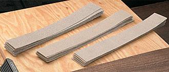 Fogli di carta abrasiva per levigatrice Veritas