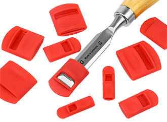 Set of 10 Silicone Chisel Guards