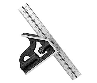 STARRETT Combination Square Economy grade