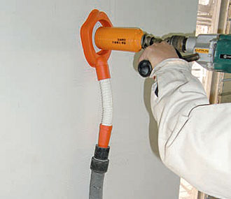 Drilling with dust collector