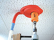 Drilling on ceilings