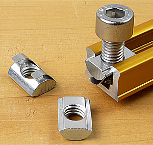 Slide Nut with thread M8 suitable for INCRA T-Tracks