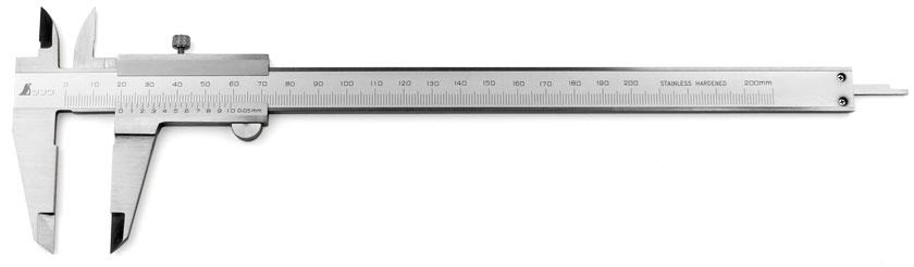 Calibro a corsoio tascabile SHINWA da 200 mm