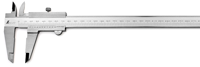 SHINWA Vernier Caliper 300 mm