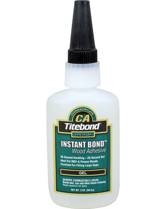 Titebond Instant Bond Gel 2oz (56 g)