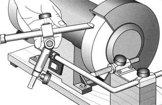 Tormek mounting set for BGM-100 bench grinder<br>Example: width SVD-185