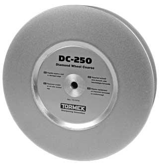 DC-250 Tormek 360 grit grade diamond wheel for Tormek T8