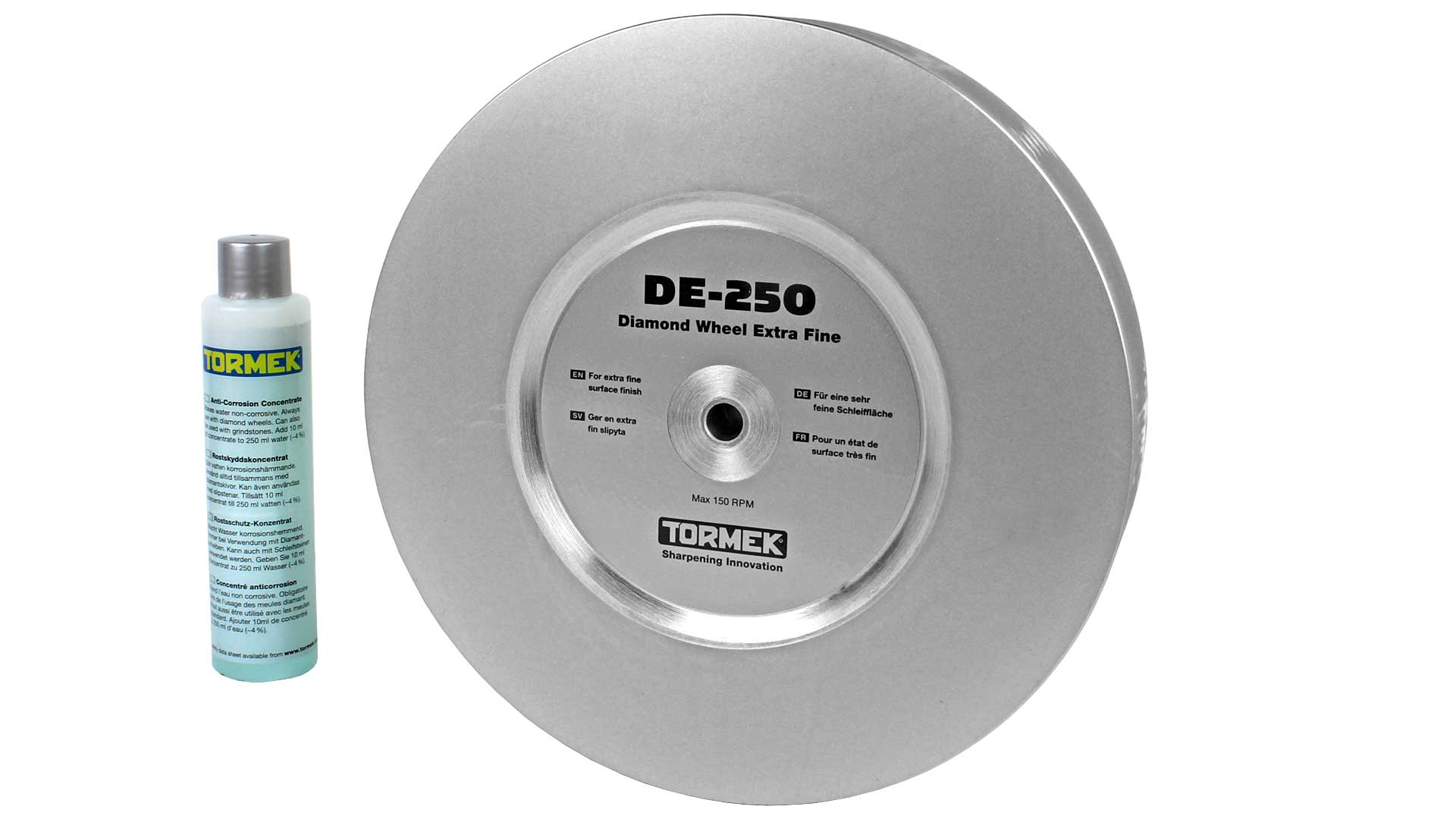 DC-250 Tormek 1200 grit grade diamond wheel for Tormek T8