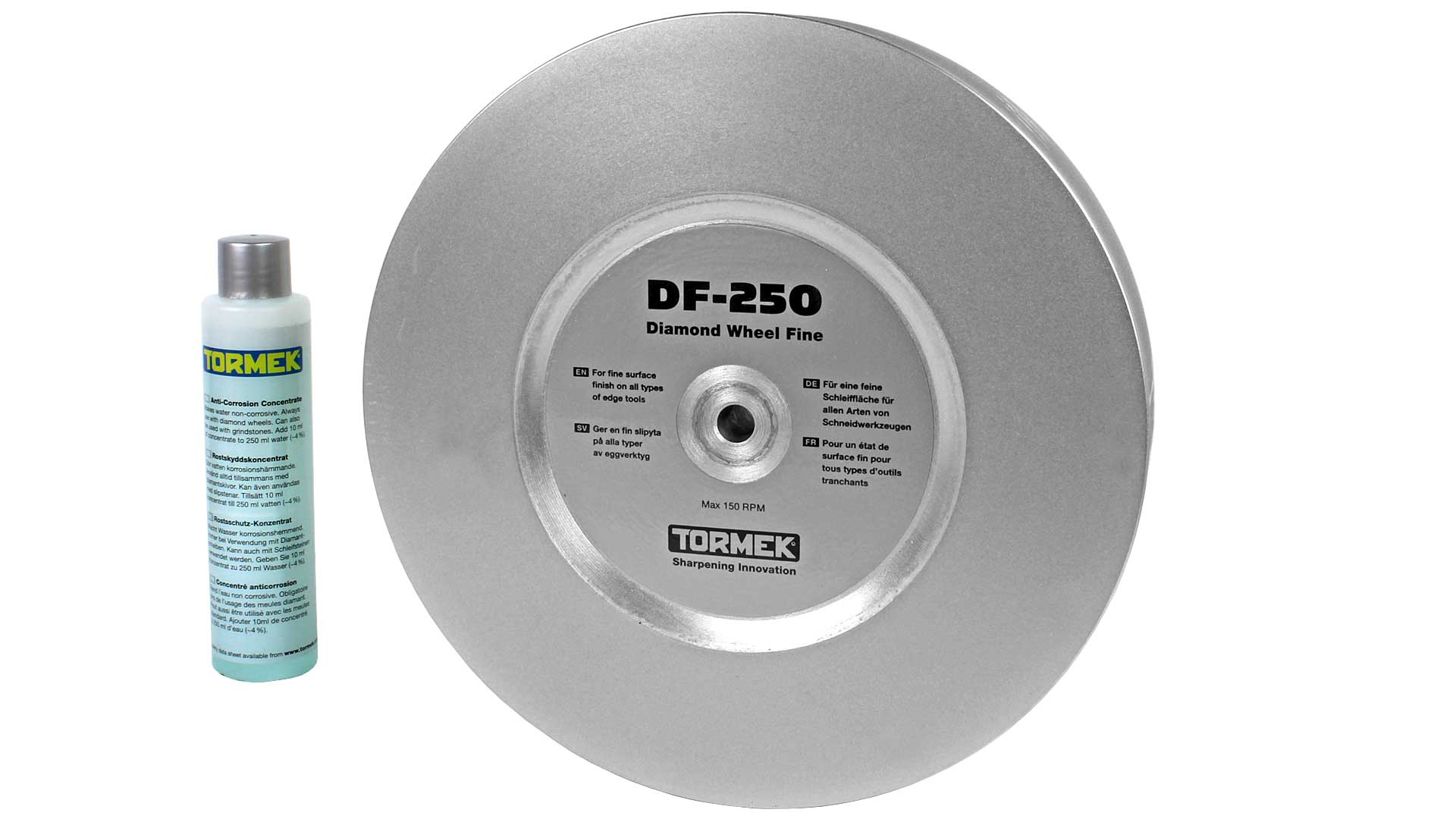 DC-250 Tormek 600 grit grade diamond wheel for Tormek T8