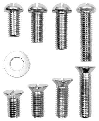 1/2-13 Threaded Fasteners for use with bench anchor
